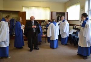 Choir robing